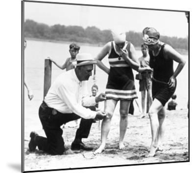 Bathing Suits, 1922--Mounted Giclee Print