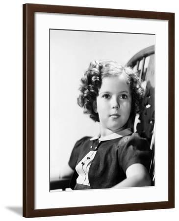Shirley Temple (1928-)--Framed Giclee Print