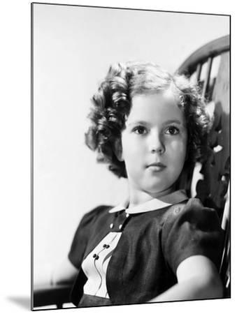 Shirley Temple (1928-)--Mounted Giclee Print