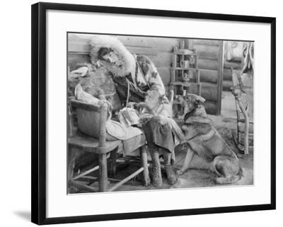 Rin-Tin-Tin (1916-1932)--Framed Giclee Print