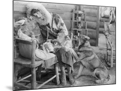 Rin-Tin-Tin (1916-1932)--Mounted Giclee Print