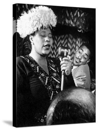 Ella Fitzgerald (1917-1996)--Stretched Canvas Print