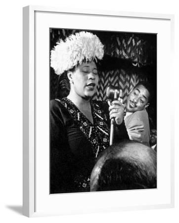 Ella Fitzgerald (1917-1996)--Framed Giclee Print