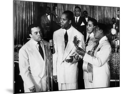 The Ink Spots, c1945--Mounted Giclee Print