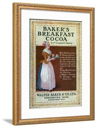 Ads: Cocoa, c1900--Framed Giclee Print