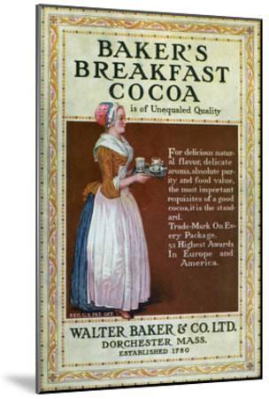 Ads: Cocoa, c1900--Mounted Giclee Print