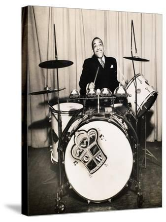 Chick Webb (1909-1939)--Stretched Canvas Print