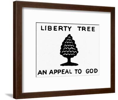 Sons of Libery Symbol, 1776--Framed Premium Giclee Print