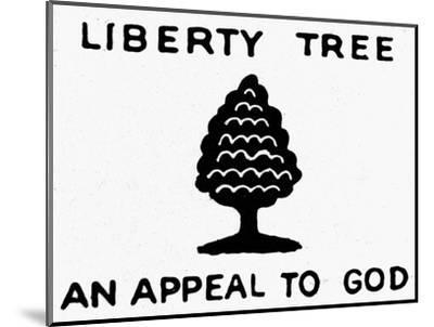 Sons of Libery Symbol, 1776--Mounted Premium Giclee Print