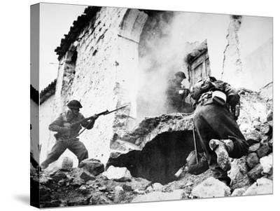 Monte Cassino, 1944--Stretched Canvas Print