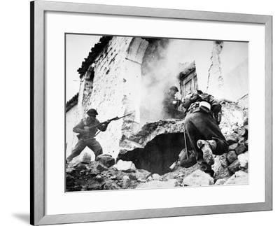 Monte Cassino, 1944--Framed Giclee Print