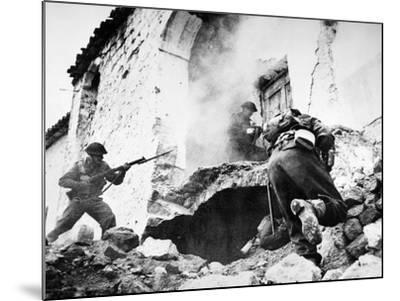 Monte Cassino, 1944--Mounted Giclee Print