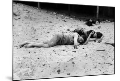 Coney Island: Sleeping--Mounted Giclee Print