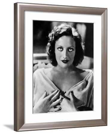 Joan Crawford (1908-1973)--Framed Giclee Print
