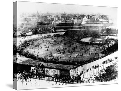 World Series, 1903--Stretched Canvas Print