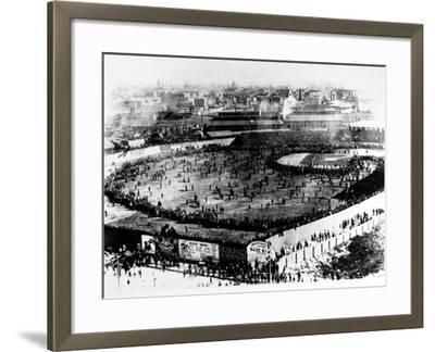 World Series, 1903--Framed Giclee Print