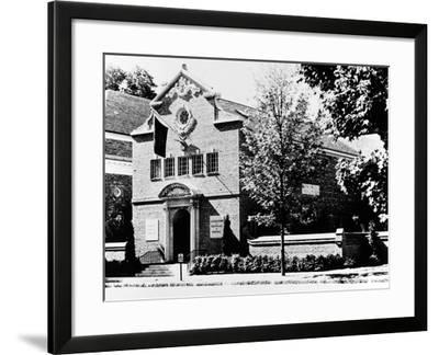 Baseball Hall of Fame--Framed Giclee Print