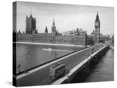 London: Parliament--Stretched Canvas Print