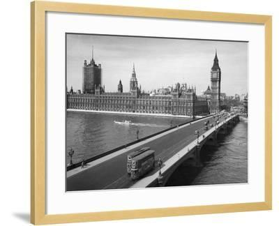 London: Parliament--Framed Giclee Print