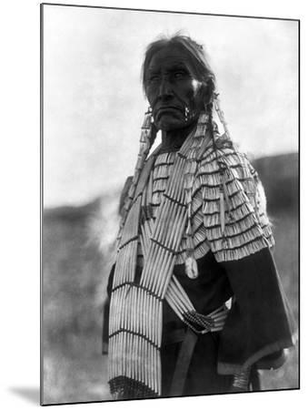 Sioux Woman, c1907-Edward S^ Curtis-Mounted Giclee Print