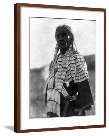 Sioux Woman, c1907-Edward S^ Curtis-Framed Giclee Print