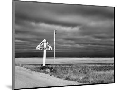 North Dakota Road, 1940-John Vachon-Mounted Premium Giclee Print