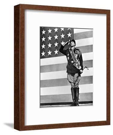 Film: Patton, 1970--Framed Premium Giclee Print