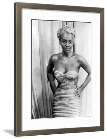Joyce Bryant, 1953-Carl Van Vechten-Framed Giclee Print