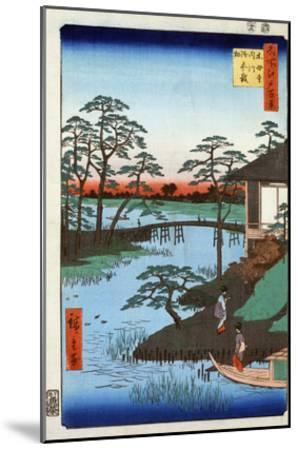 Japan: Inlet, 1857-Ando Hiroshige-Mounted Giclee Print
