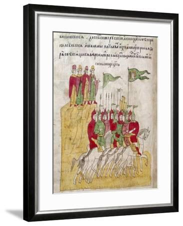 Russian Troops, 1380--Framed Giclee Print