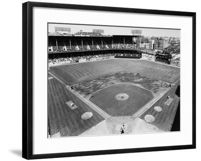 Baseball Game, c1953--Framed Giclee Print