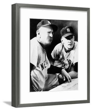 Mickey Mantle (1931-1995)--Framed Giclee Print