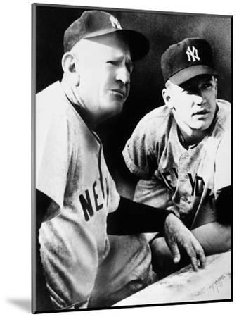 Mickey Mantle (1931-1995)--Mounted Giclee Print