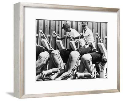 Vince Lombardi (1913-1970)--Framed Giclee Print