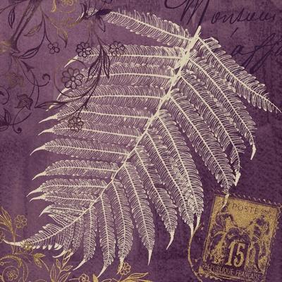 Lavender Fern-Booker Morey-Framed Art Print