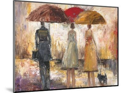 Spring Showers 1-Marc Taylor-Mounted Premium Giclee Print