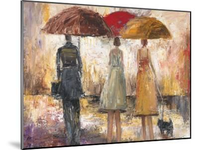 Spring Showers 1-Marc Taylor-Mounted Art Print