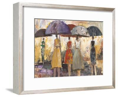 Spring Showers 2-Marc Taylor-Framed Art Print