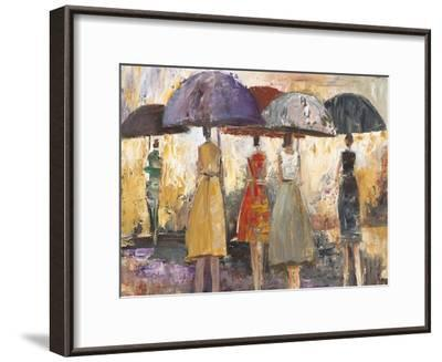 Spring Showers 2-Marc Taylor-Framed Art Print