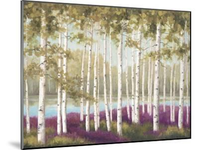 Plum Forest Floor-Jill Schultz McGannon-Mounted Art Print