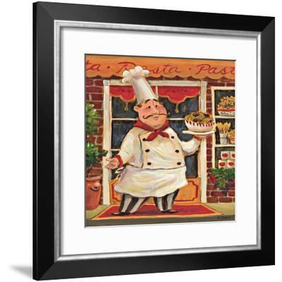 Pasta Chef-K^ Tobin-Framed Art Print