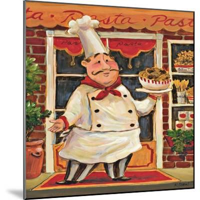 Pasta Chef-K^ Tobin-Mounted Art Print