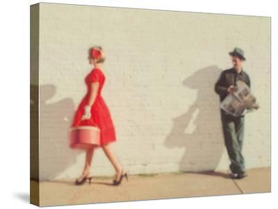 Pretty in Red-Mandy Lynne-Stretched Canvas Print