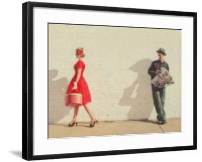 Pretty in Red-Mandy Lynne-Framed Art Print