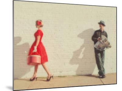 Pretty in Red-Mandy Lynne-Mounted Art Print