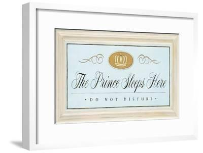 The Prince Sleeps-Angela Staehling-Framed Art Print