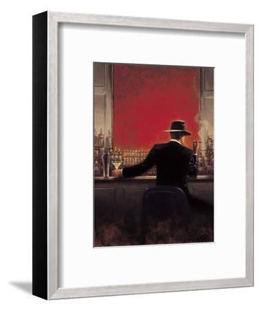 Cigar Bar-Brent Lynch-Framed Premium Giclee Print