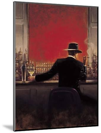 Cigar Bar-Brent Lynch-Mounted Premium Giclee Print