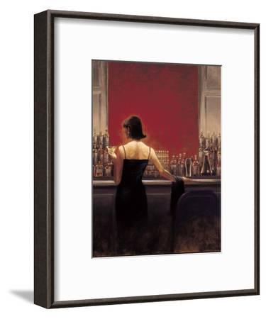 Evening Lounge-Brent Lynch-Framed Premium Giclee Print