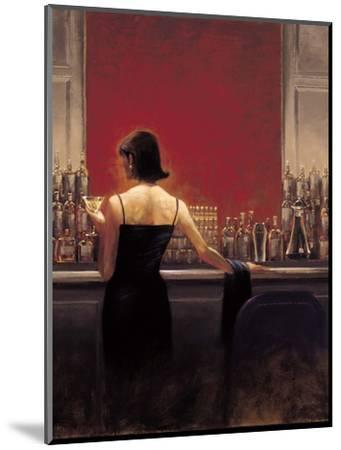 Evening Lounge-Brent Lynch-Mounted Premium Giclee Print